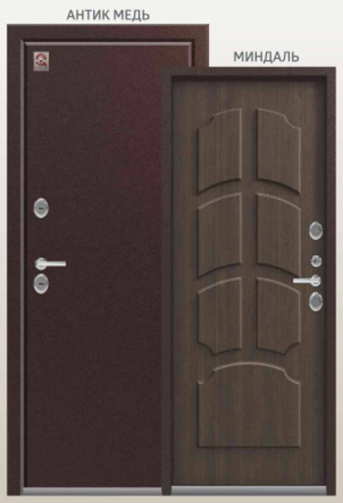 Двери Центурион: Центурион T-2 Антик медь\Миндаль в Модуль Плюс