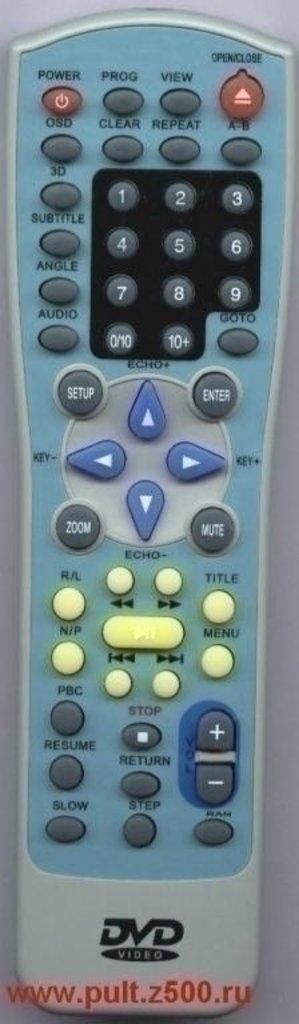 AKAI: Пульт AKAI JX-9001B, KM-608 ( DVD ) оригинал в A-Центр Пульты ДУ
