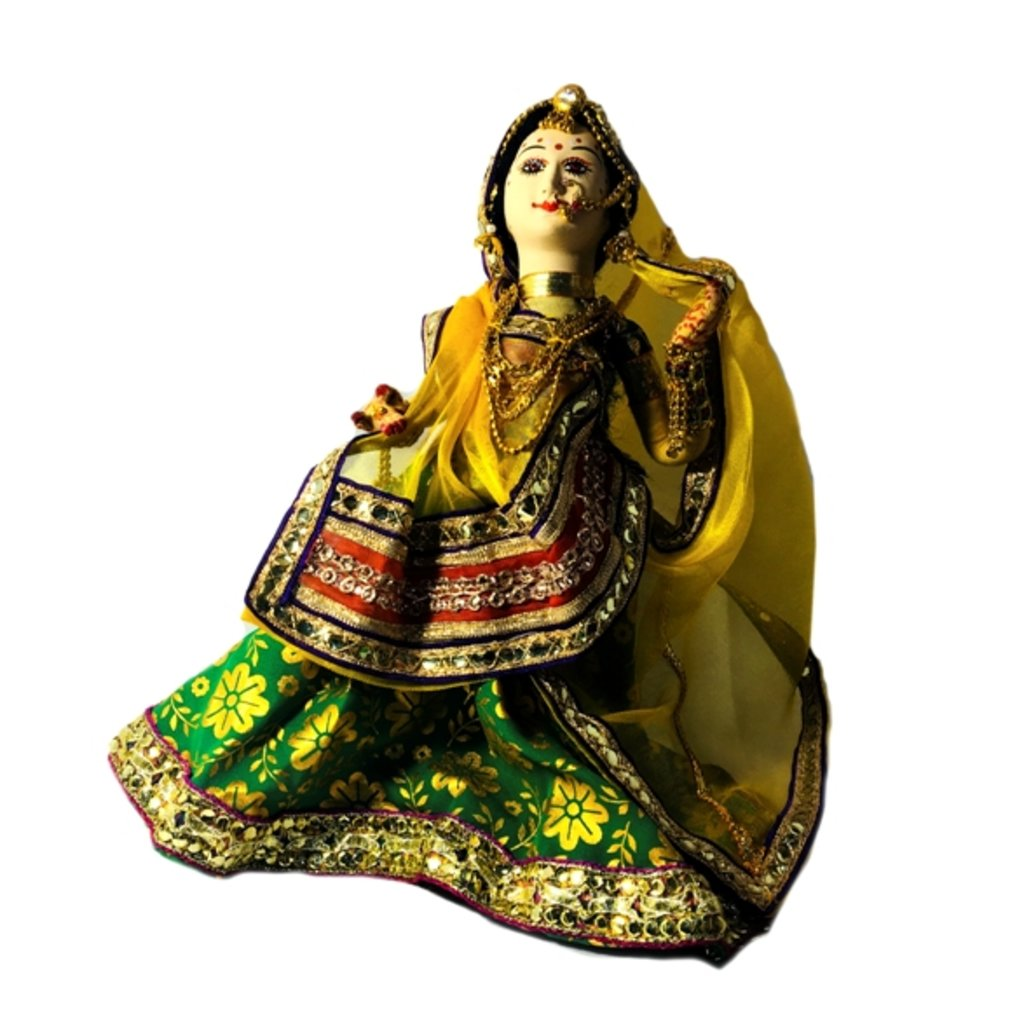 """Статуэтки: Кукла """"Индианка-танцовщица"""" в Шамбала, индийская лавка"""