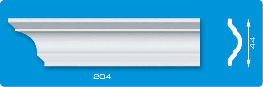Плинтуса потолочные: Плинтус потолочный ЛАГОМ Ламинированный 204 экструзионный длина 2м в Мир Потолков