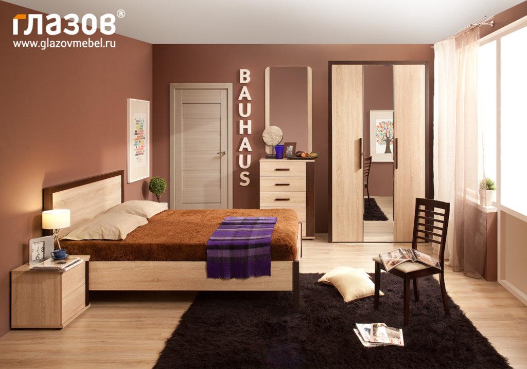 Шкафы для одежды и белья: Шкаф для одежды BAUHAUS 8 (Зеркало+Стандарт) в Стильная мебель
