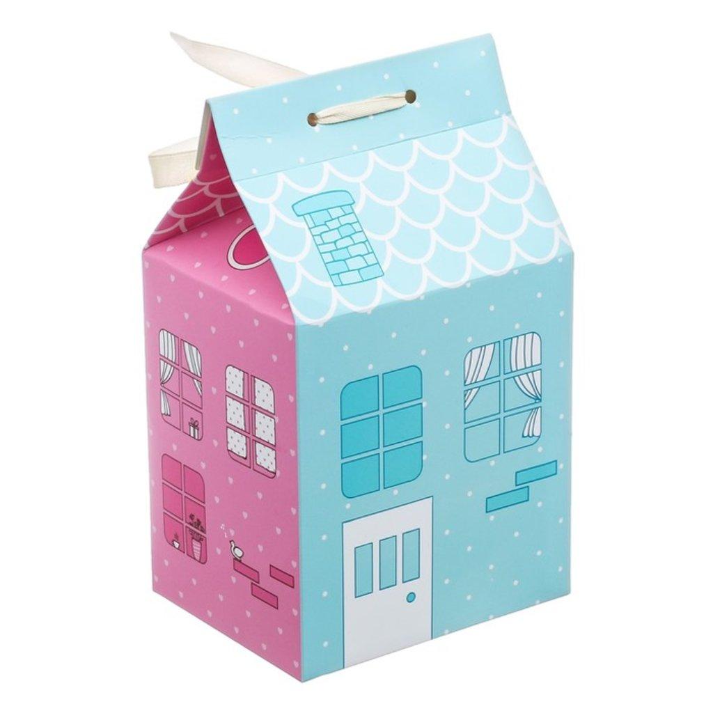 """Коробки для кондитерских изделий: Упаковка для кондитерских изделий """"Домик"""", 8 х 10 х 16 см в ТортExpress"""