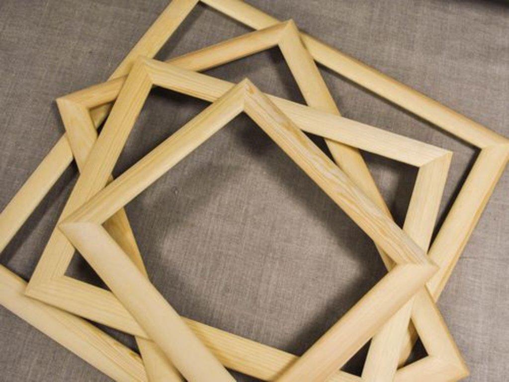 Рамы: Рама №46 40*40 Лесосибирск сосна в Шедевр, художественный салон