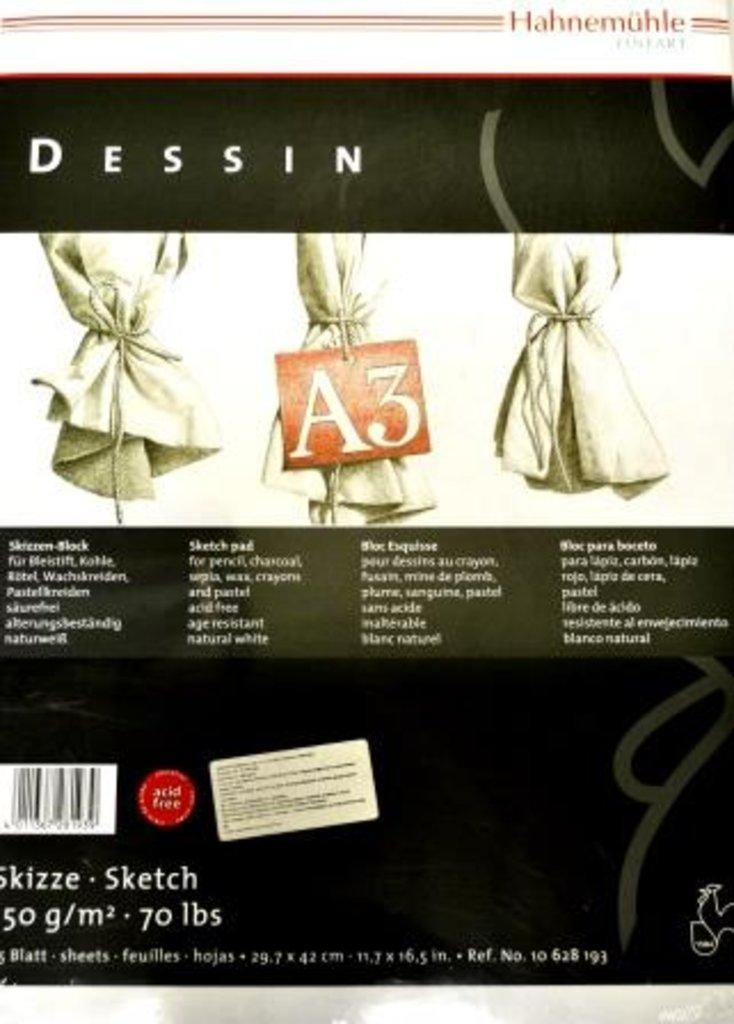"""Бумага для эскизов и набросков: Альбом для эскизов на спирали """"Dessin"""" А3, 25 листов в Шедевр, художественный салон"""