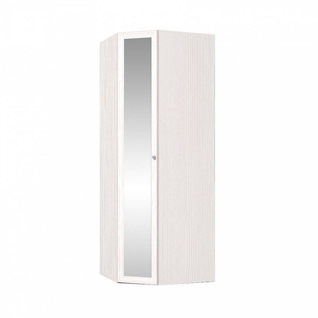 Шкафы для спальни: Шкаф угловой Карина 156 (Зеркало) в Стильная мебель
