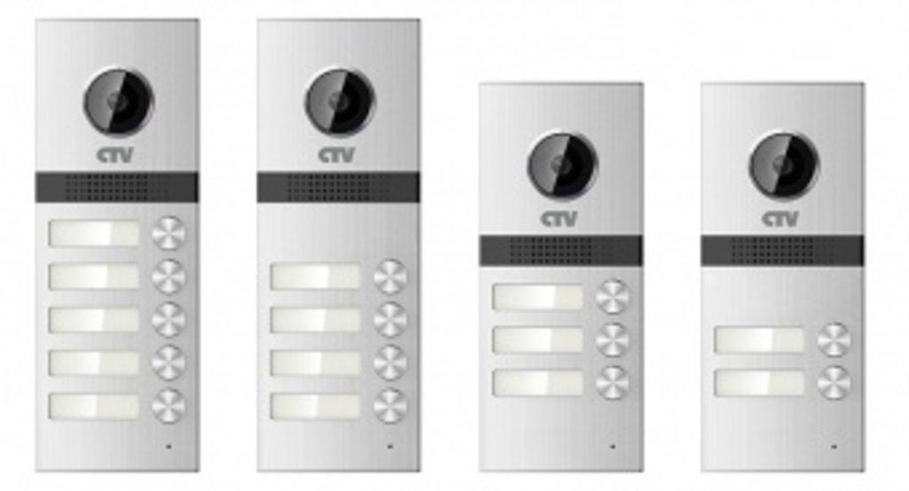 Вызывные панели: Вызывная панель для видеодомофонов на 5 абонентов CTV-D5Multi в Микровидео