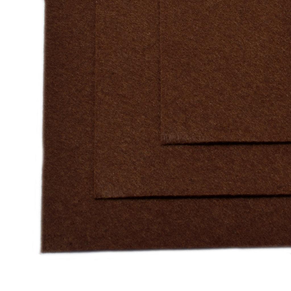 Фетр: IDEAL Фетр жёсткий 1мм 20*30см коричневый 1лист в Шедевр, художественный салон