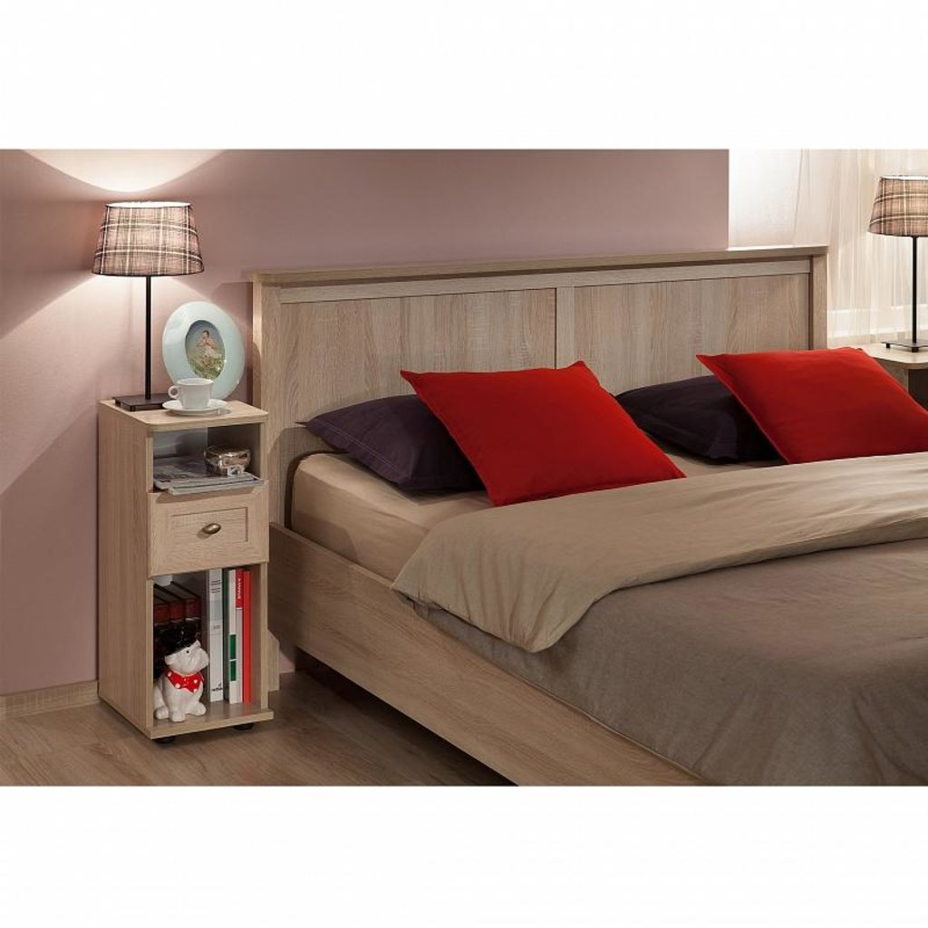 Кровати: Кровать Sherlock 41 (1800, орт. осн. металл) в Стильная мебель