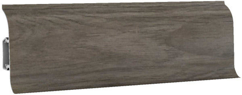 Плинтуса напольные: Плинтус напольный 60 ДП МК полуматовый 6071 дуб какао в Мир Потолков