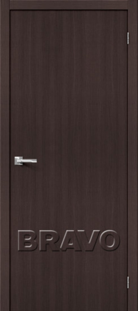 Двери экошпон BRAVO: Тренд-0 Wenge Veralinga в STEKLOMASTER