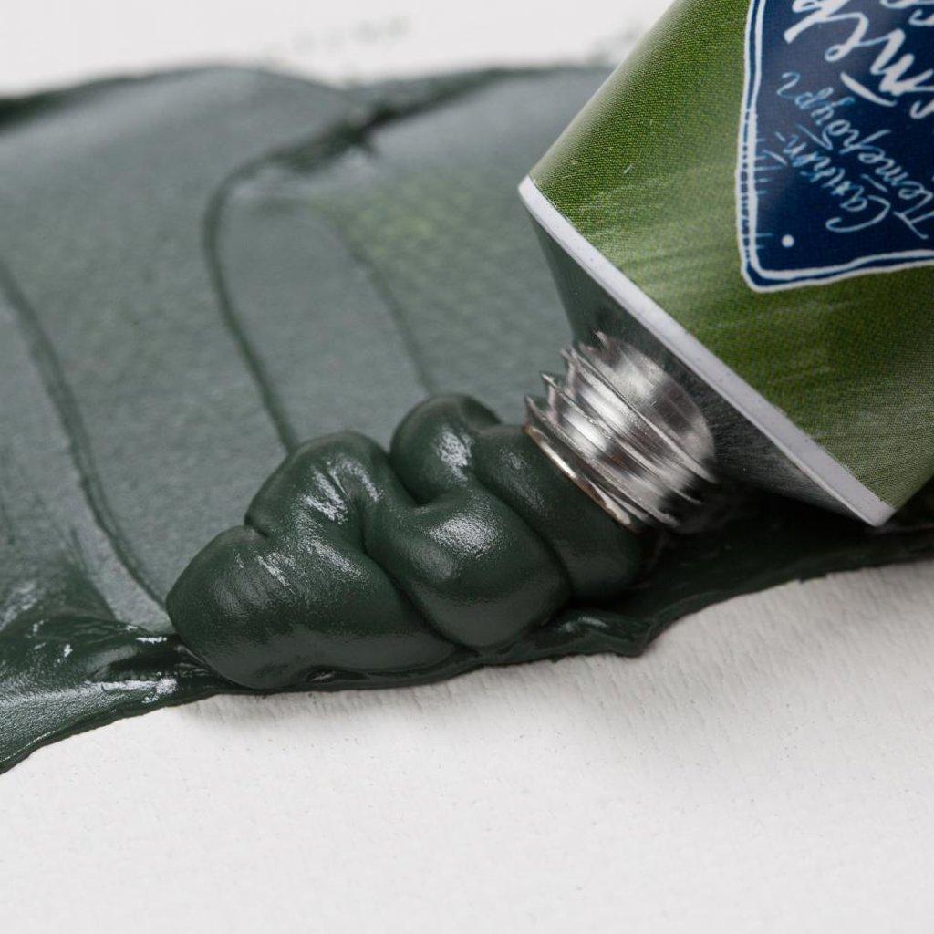 """МАСТЕР-КЛАСС: Краска масляная """"МАСТЕР-КЛАСС""""  зелёная Тавуш 46мл в Шедевр, художественный салон"""