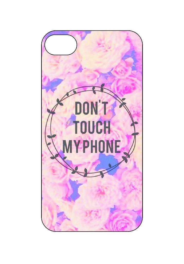 Выбери готовый дизайн для своей модели телефона: Не трогать мой телефон1 в NeoPlastic