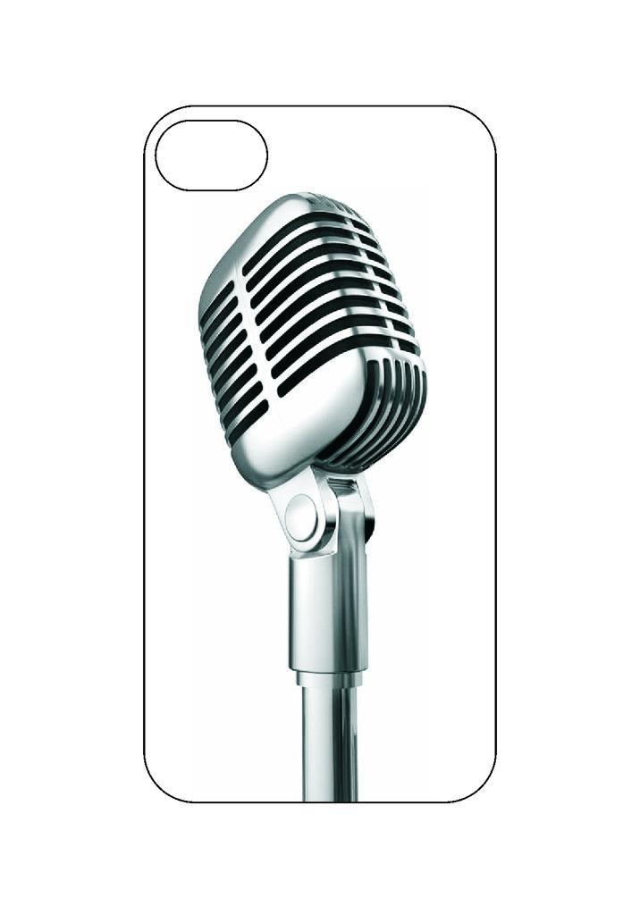 Выбери готовый дизайн для своей модели телефона: Микрофон в NeoPlastic