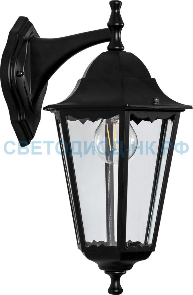 Садово-парковые светильники: 6102 60W 230V E27 170*200*320мм черный   ОТК в СВЕТОВОД