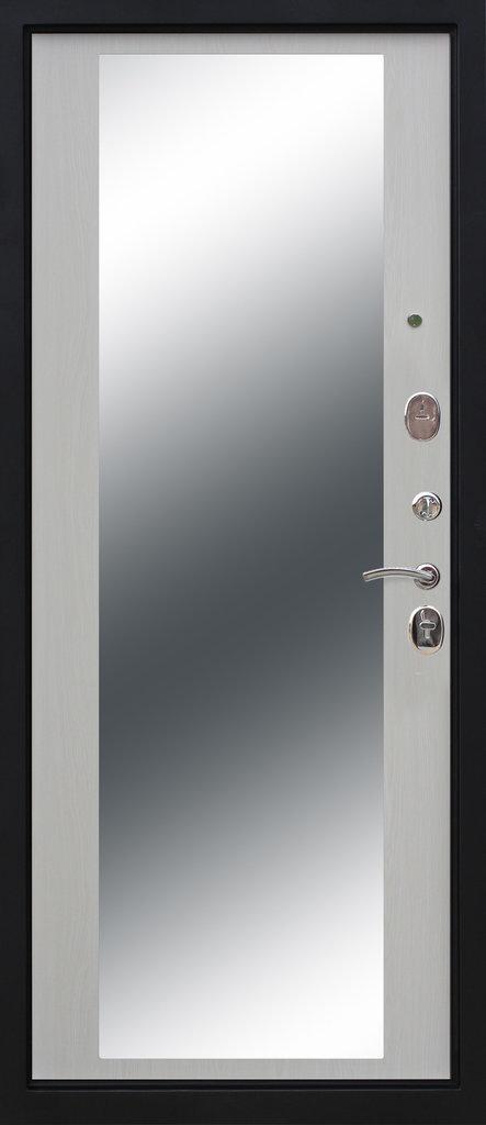 Входные двери (премиум)  от 90-110мм: Входная дверь  Монарх Зеркало в STEKLOMASTER