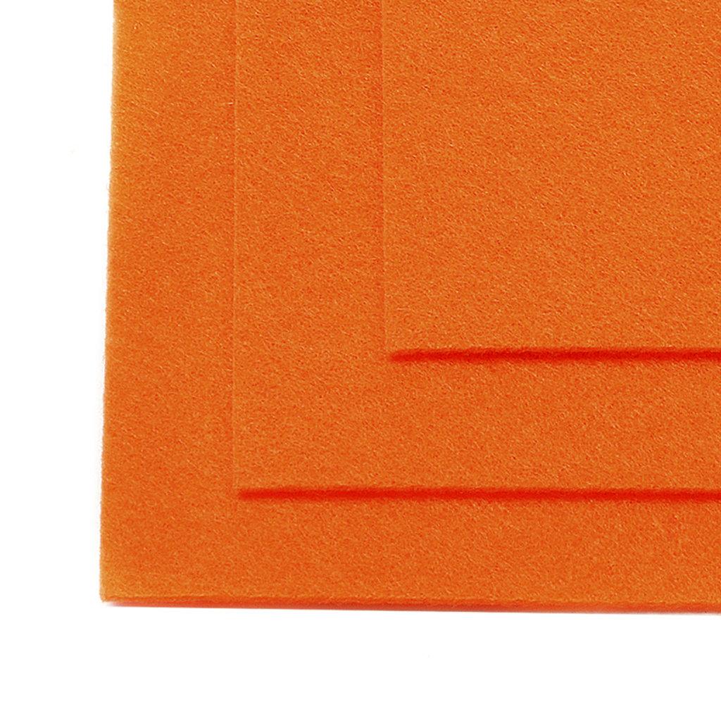 Фетр: IDEAL Фетр жёсткий 1мм 20*30см оранжевый 1лист в Шедевр, художественный салон