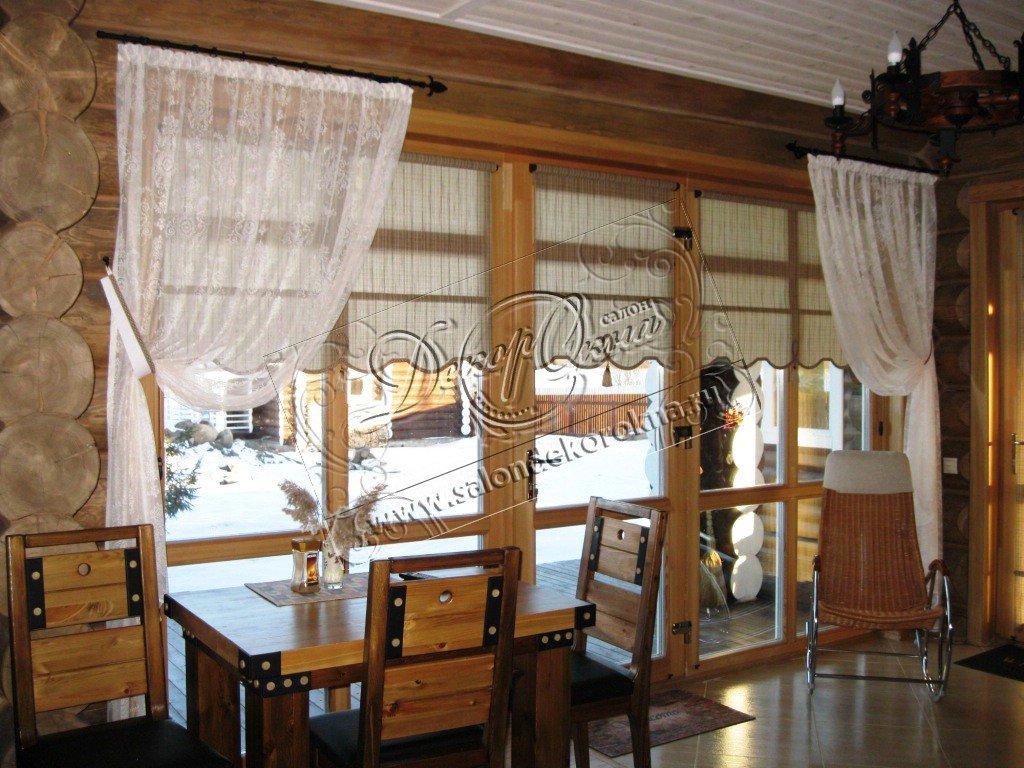 Рулонные шторы: Рулонные шторы как элемент декора в Декор окна, салон