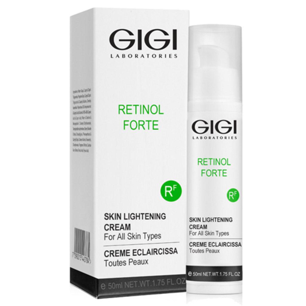 Крема: Отбеливающий крем «Ретинол Форте» / Skin Lightening Cream, Retinol Forte, GiGi в Косметичка, интернет-магазин профессиональной косметики