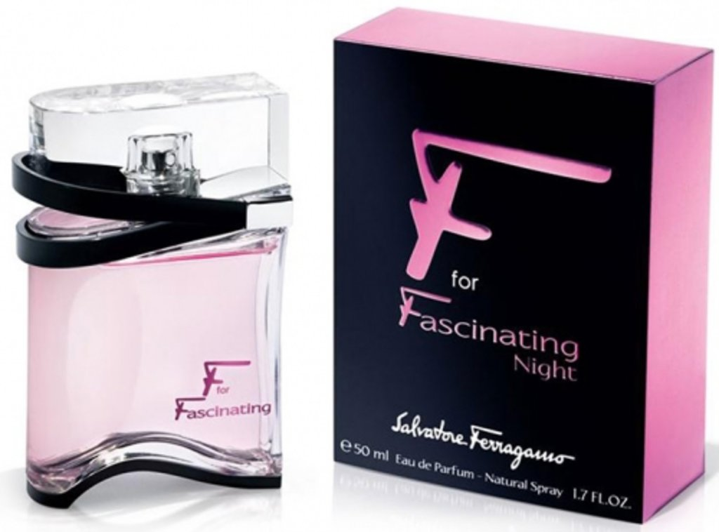 Salvatore Ferragamo: Salvatore Ferragamo Fasciating Night edt в Элит-парфюм