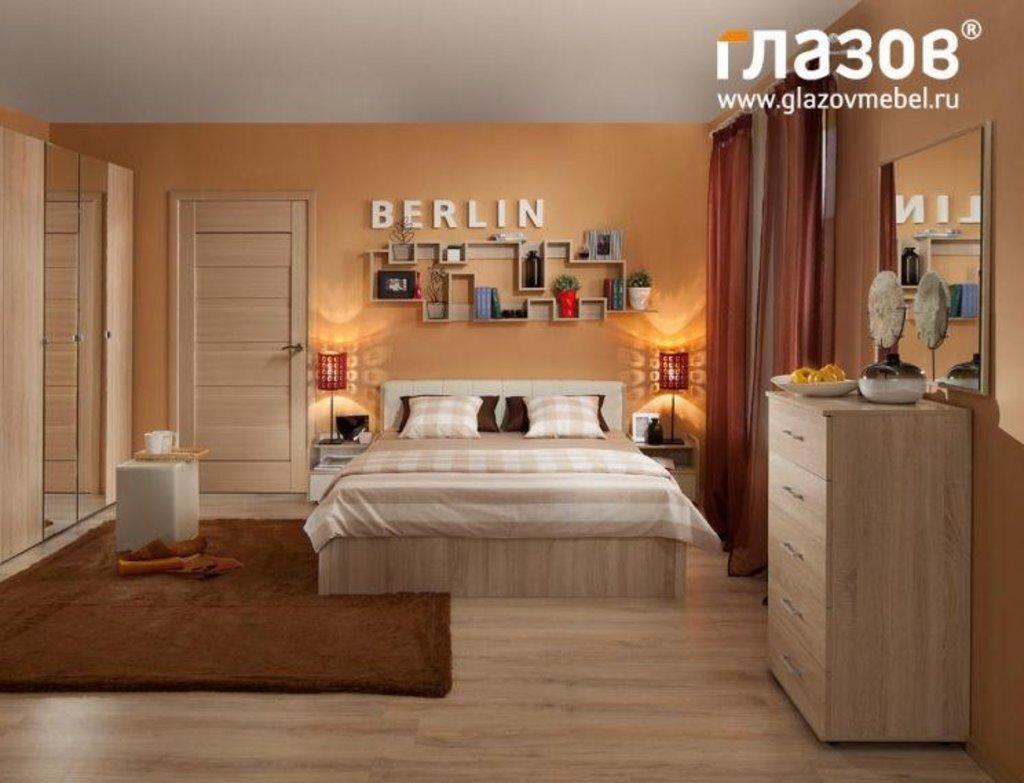 Модульная мебель в спальню BERLIN (Дуб Сонома): Модульная мебель в спальню BERLIN (Дуб Сонома) в Стильная мебель