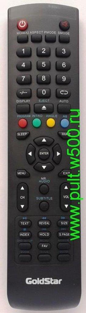 GOLDSTAR: Пульт GOLDSTAR Y-72C2 (LCD-DVD) оригинал в A-Центр Пульты ДУ