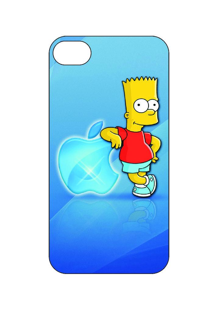 Выбери готовый дизайн для своей модели телефона: Симпсон Бард в NeoPlastic