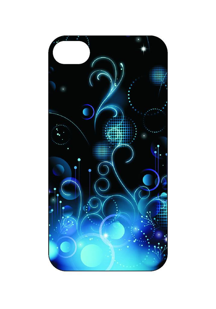 Выбери готовый дизайн для своей модели телефона: Blue в NeoPlastic