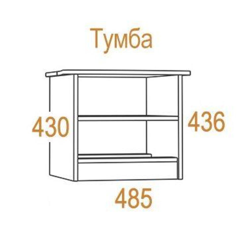 Прикроватные тумбочки: Тумба прикроватная Комфорт-2 в Стильная мебель