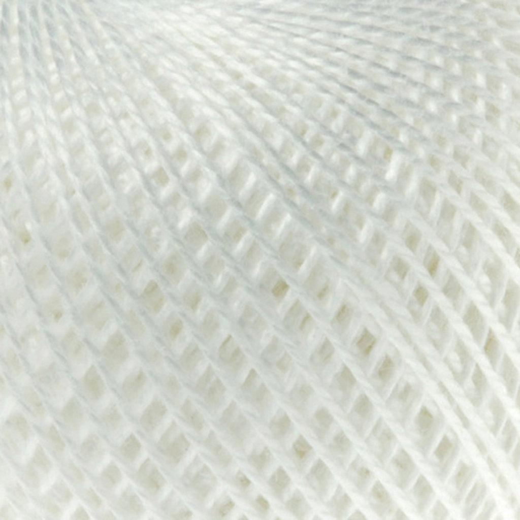 Ирис 25гр.: Нитки Ирис 25гр.150м.(100%хлопок)цвет 0101 белый в Редиант-НК