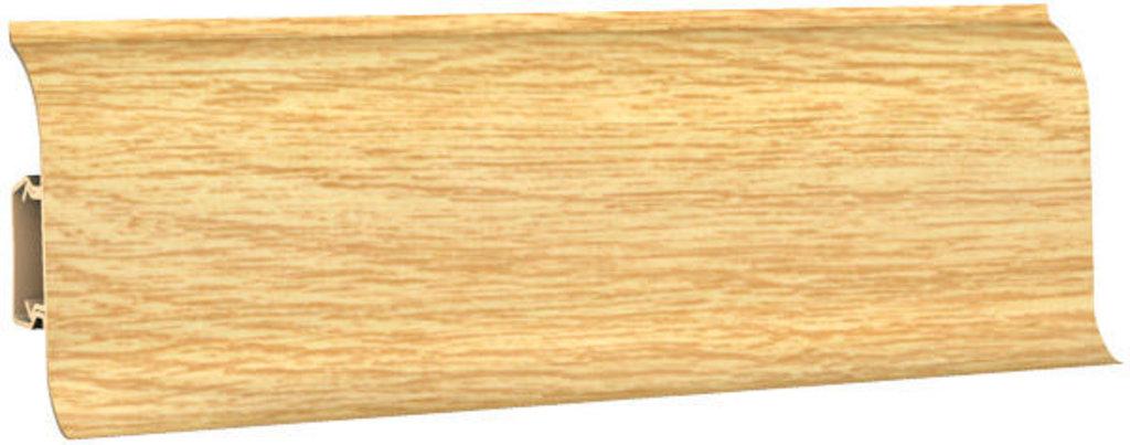 Плинтуса напольные: Плинтус напольный 60 ДП МК полуматовый 6056 дуб венский в Мир Потолков