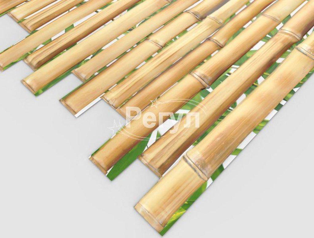 Панели ПВХ: Бамбук Золотой в Мир Потолков