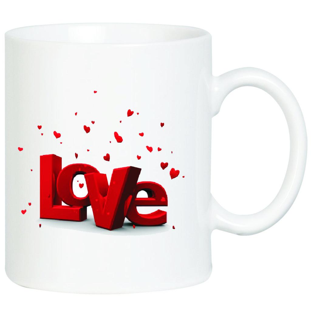"""Выбери готовый дизайн для любой кружки-заготовки: Кружка """"Love"""" в NeoPlastic"""