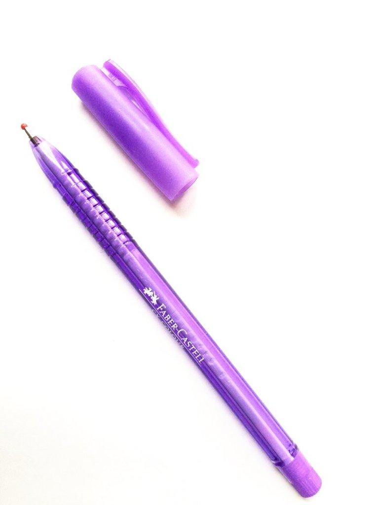 Ручки: Роллер СХ5 , фиолетовый , 1.0 мм Faber-Castell в Шедевр, художественный салон