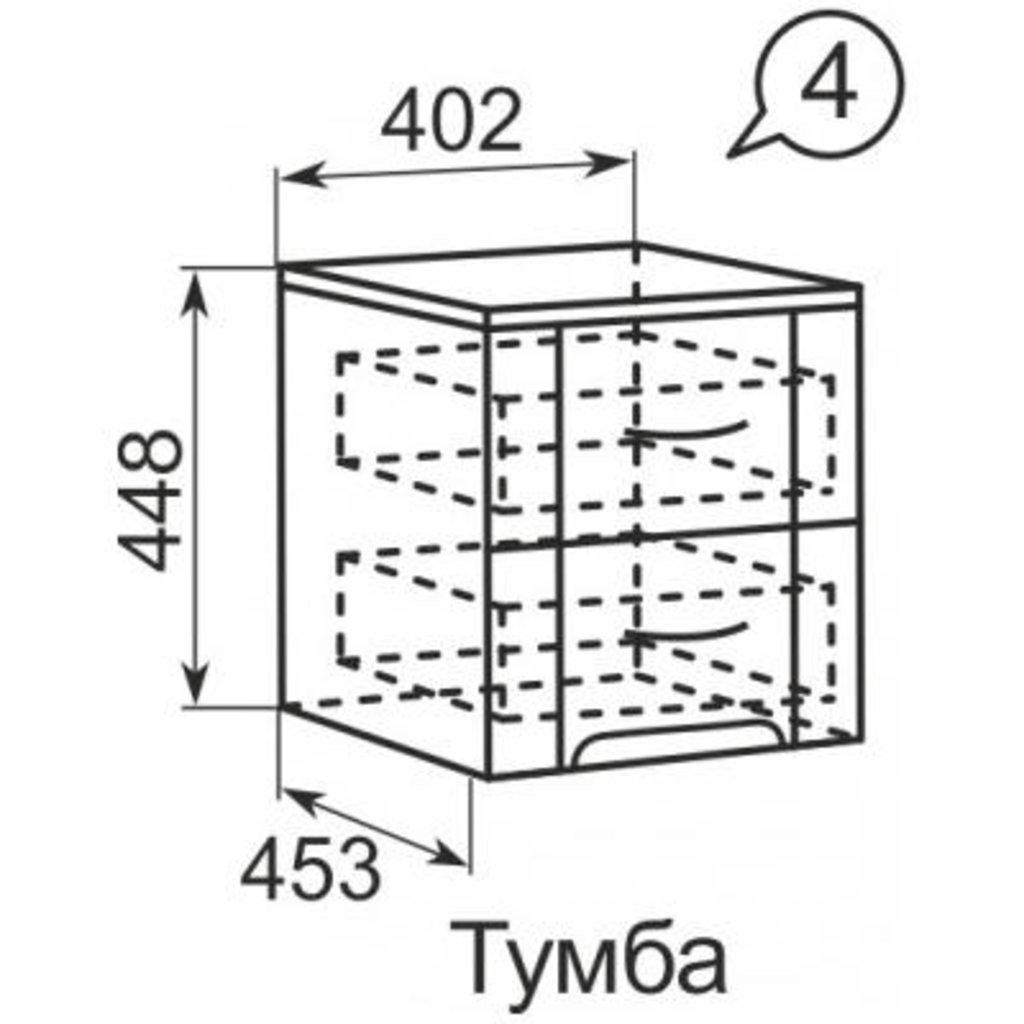 Прикроватные тумбочки: Тумба прикроватная (04) Виктория в Стильная мебель