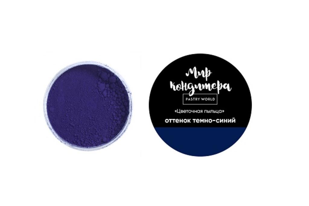 Ингредиенты: Цветочная пыльца, оттенок темно-синий в ТортExpress