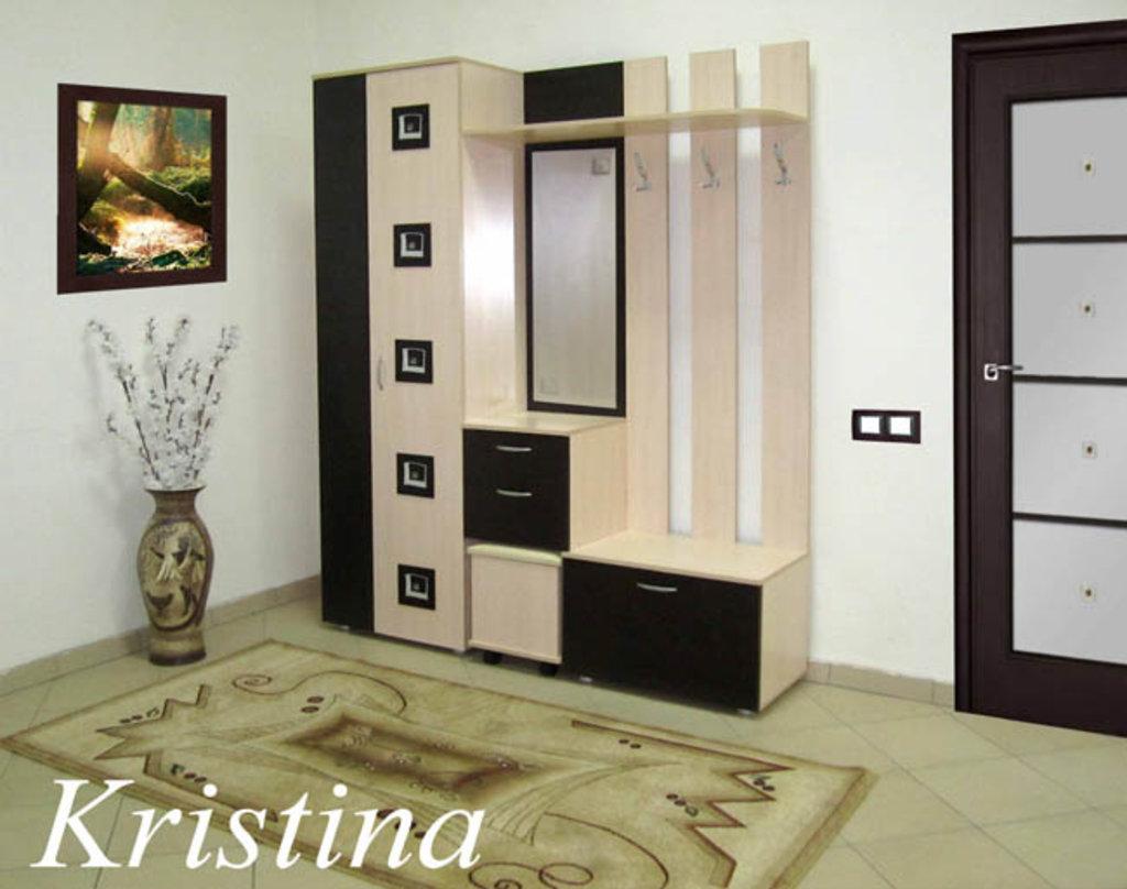 Мебель для прихожих, общее: Прихожая Кристина левая (Линаура) в Стильная мебель