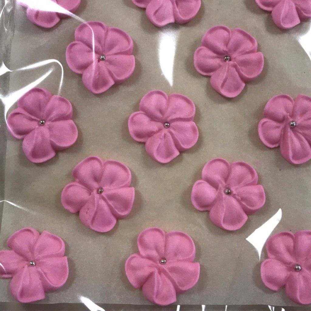 Сахарные украшения: Украшение сахарное яблоневый цвет 13 штук в ТортExpress