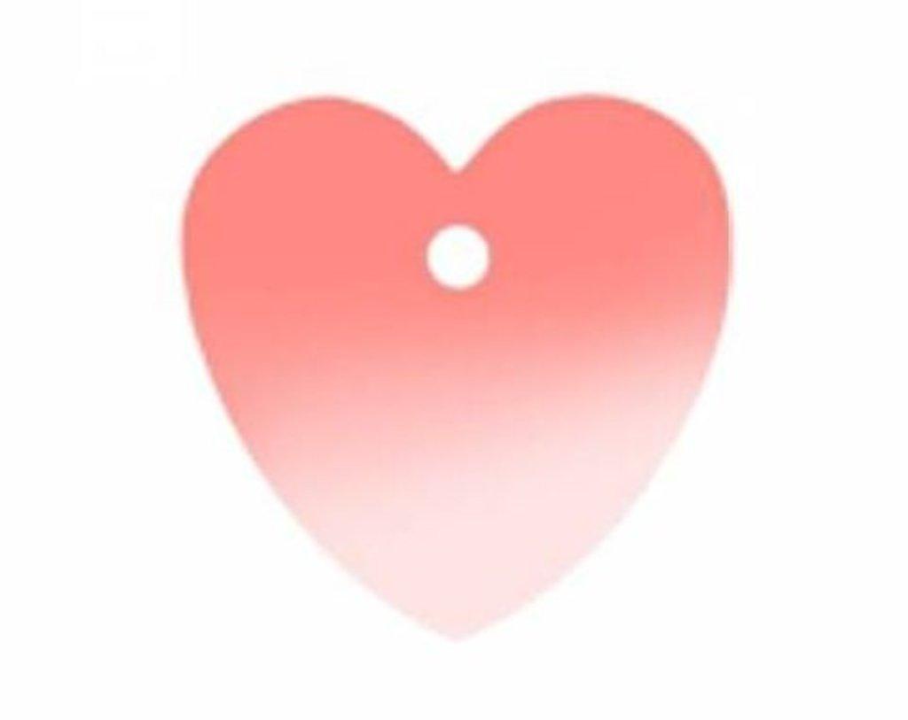 """Сердечки: Пайетки""""сердечки""""10*10мм.,упак/10гр.Астра(цвет:30 розовый голограмма) в Редиант-НК"""