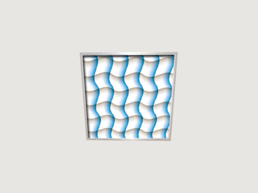 Витражные (стеклянные) потолки: Серия «Универ-Волны» в Мир Потолков