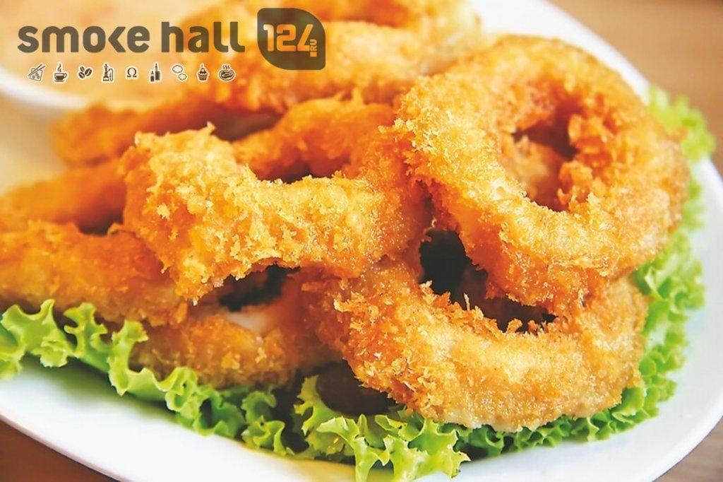 Закуски: Кольца кальмара в кляре в Restorant SH