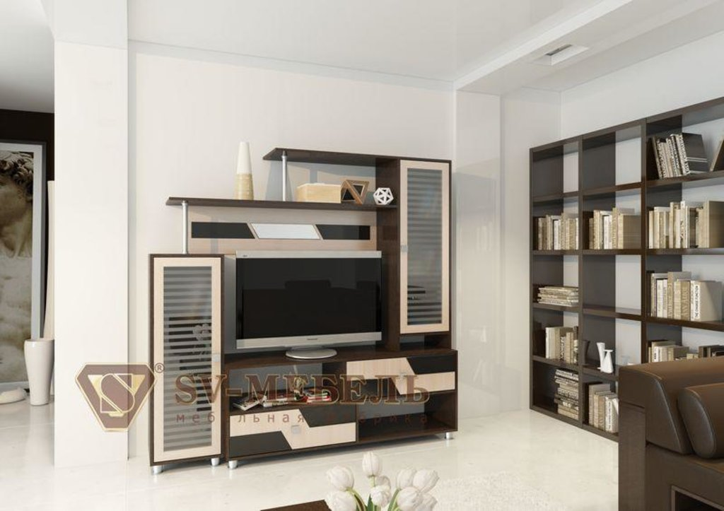 Мебель для гостиной Нота-9: Мебель для гостиной Нота-9 (без шкафа) в Диван Плюс
