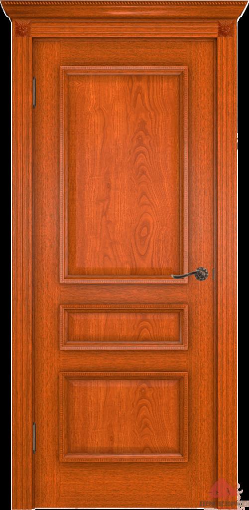 Двери Белоруссии  шпонированые: Вена (орех-коньяк) в STEKLOMASTER