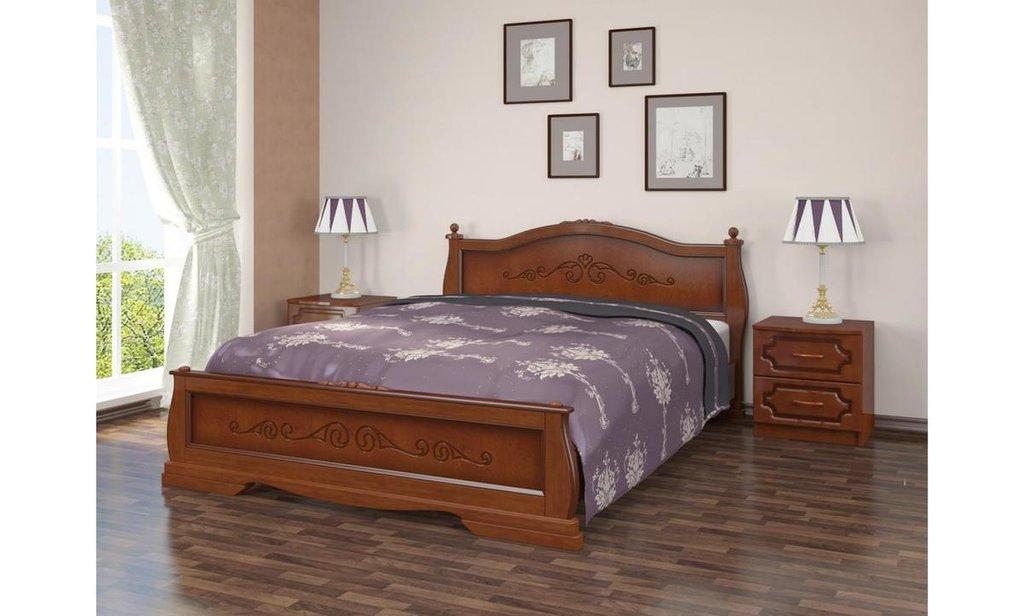 Кровати: Кровать Карина-2 (массив) в Уютный дом