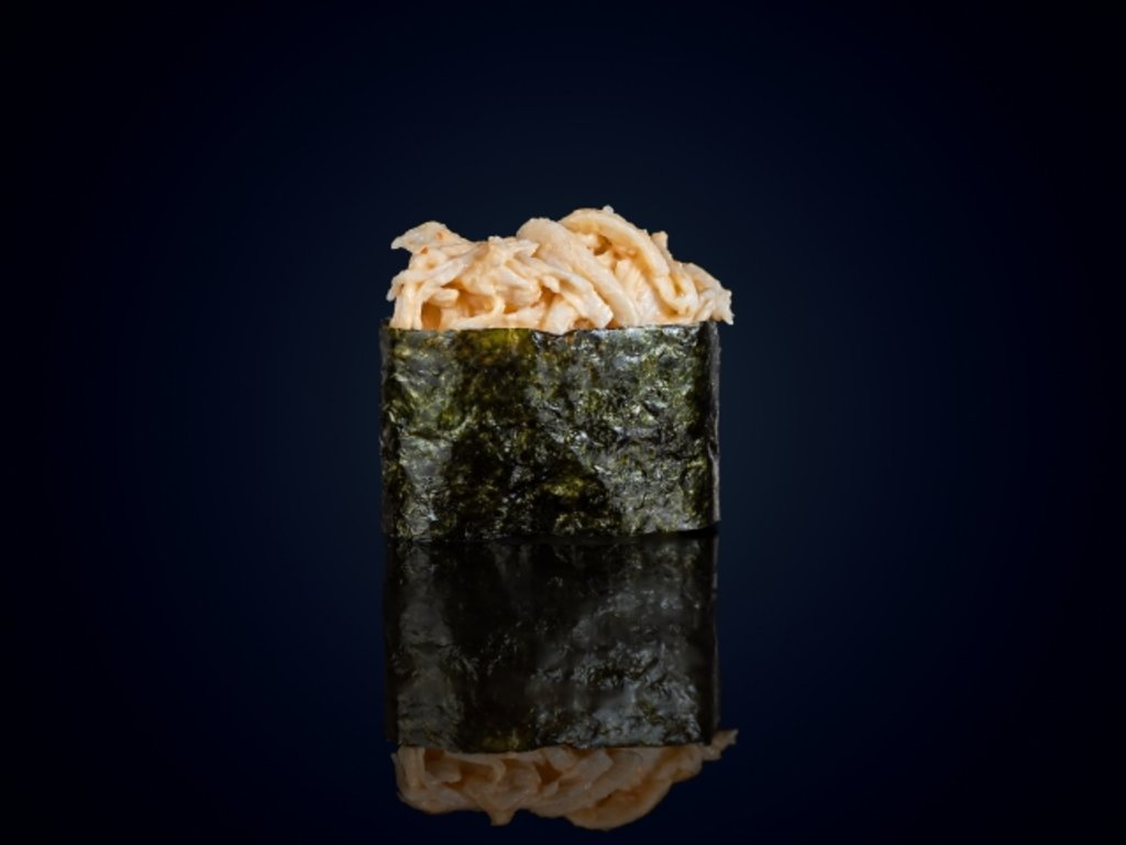 Суши и гунканы: Гункан Спайс кани в МЭСИ суши&роллы