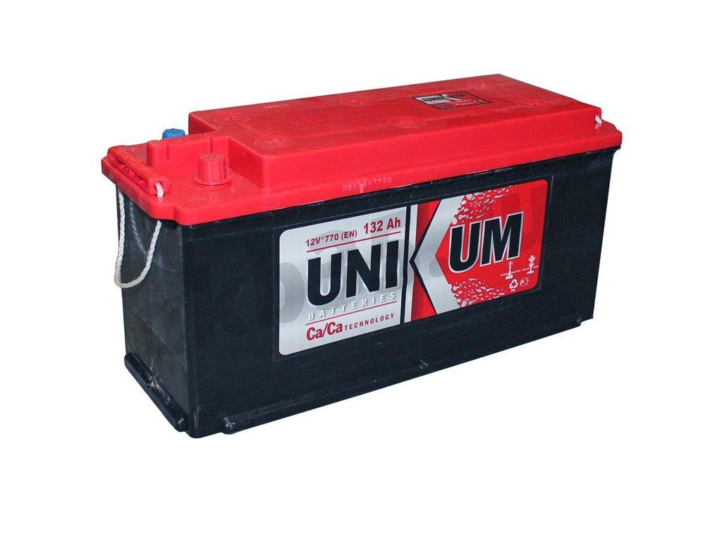 Аккумуляторы: Unikum 6СТ-132 Рос. Полярность в Планета АКБ