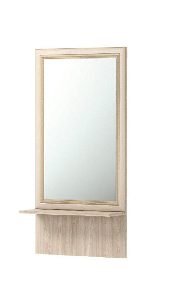 Зеркала, общее: Зеркало настенное с полкой 21 Брайтон в Стильная мебель