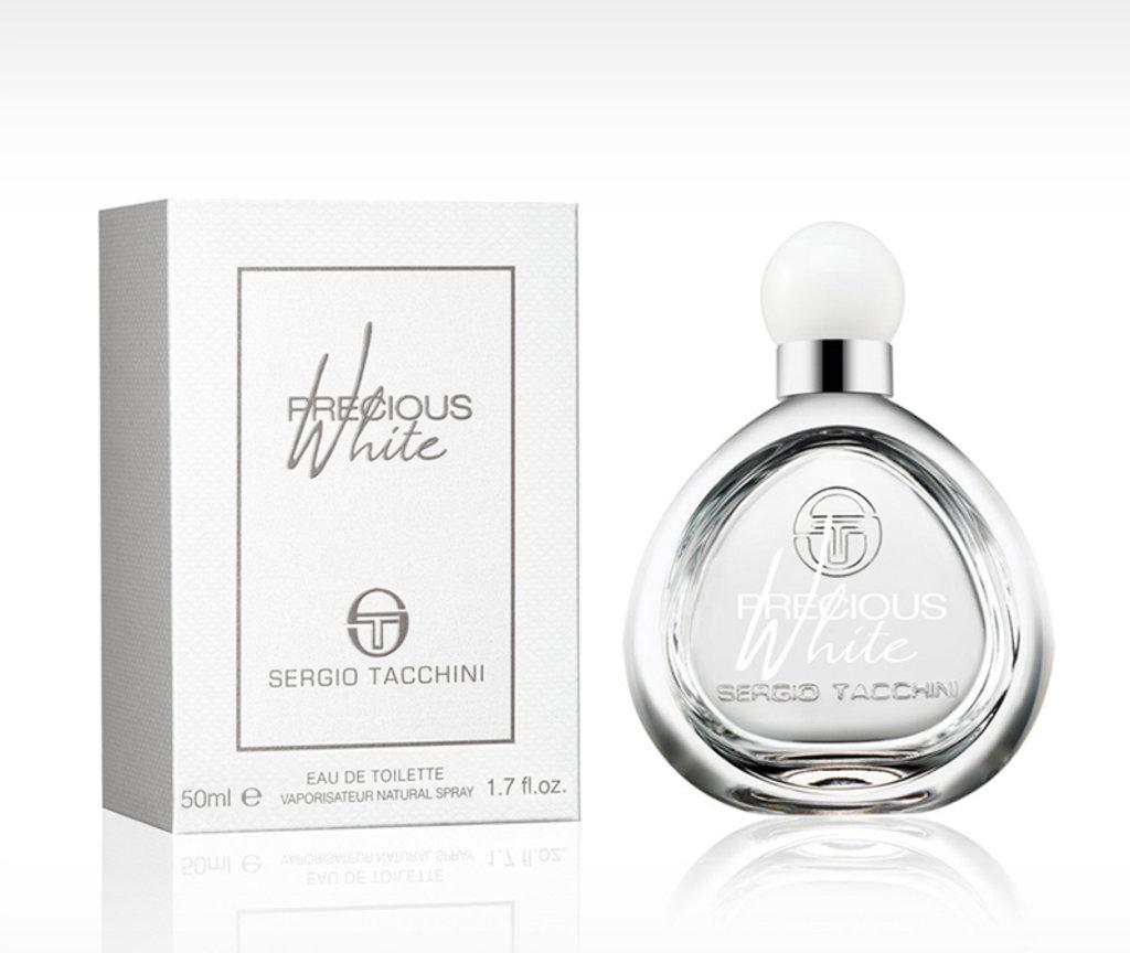 Для женщин: Sergio Tacchini Precious White edt 30 | 50ml в Элит-парфюм