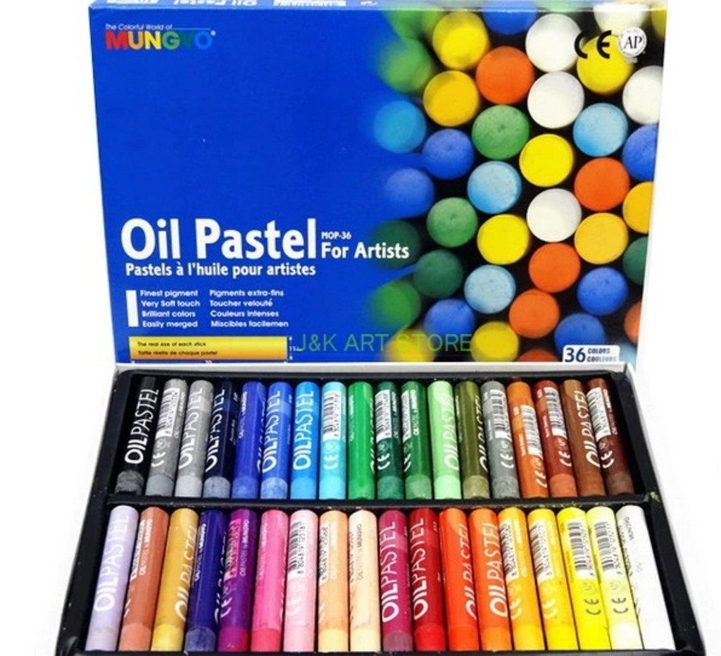 Пастель: Пастель MUNGYO oil pastels, 36 цветов в Палитра