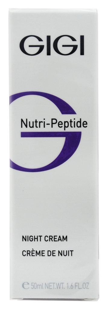 Крема: Пептидный ночной крем/ Night Cream, Gigi, Nutri-Peptide в Косметичка, интернет-магазин профессиональной косметики