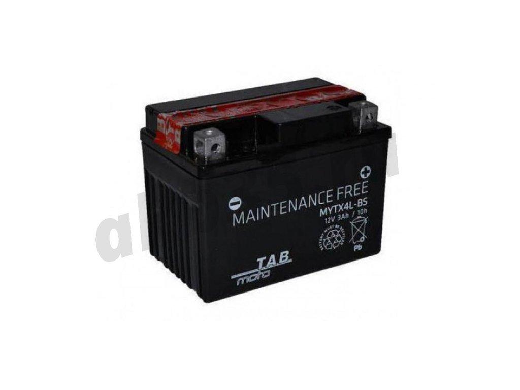 Аккумуляторы: TAB 3 А/ч Обратный MYTX4L-BS в Планета АКБ